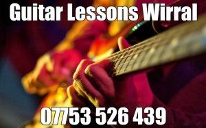 Guitar Teachers Wirral UK